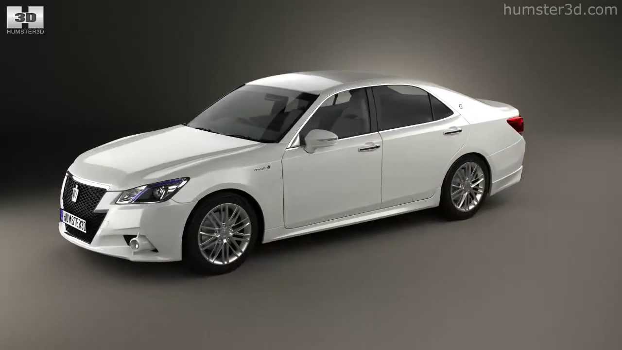 Toyota crown hybrid athlete 2013 by 3d model store humster3d com youtube