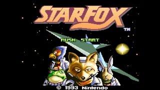 Star Fox (Super Nintendo) James & Mike Bonus video