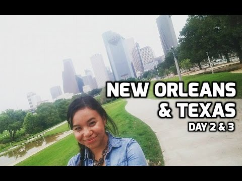 Alexkucha Travels - NEW ORLEANS & TEXAS DAY 1 & 2