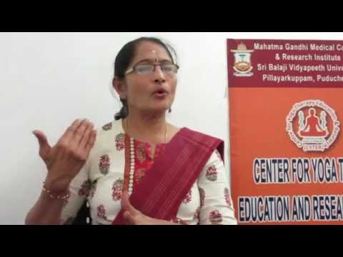 Becoming a yoga therapist in spirit by Dr Meena