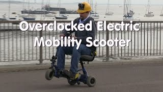 Overclocked Electric Mobility Scooter