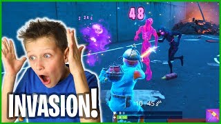 INVASION IN FORTNITE!