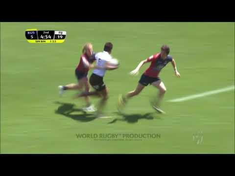 Womens 7s Kitakyushu 2018 Russia vs Fiji