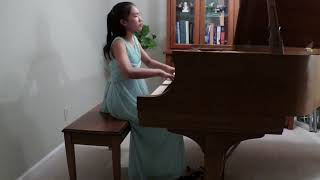 2017 Piano Group IV:First Prize:Nancy J. Zheng,13 Beethoven Sonata in E-flat, Op.31, No.3,Allegro
