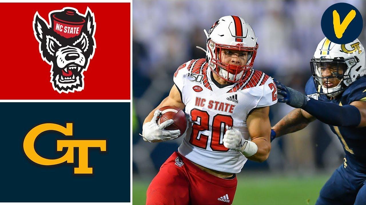NC State vs Georgia Tech Highlights   Week 13   College Football 2019
