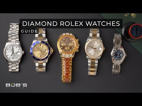 Diamond Rolex Watches - Ultimate Buying Guide