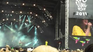 Jenni Vartiainen - Mustaa kahvia Live @ Provinssirock 2011 (HD)