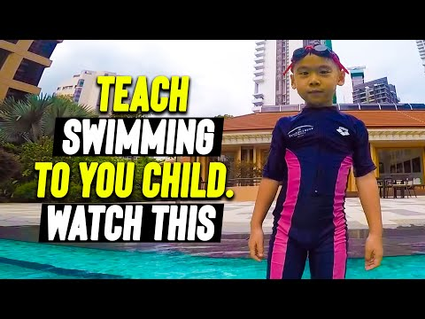 RELAX to Swim independently with confidence (Lesson for kids)