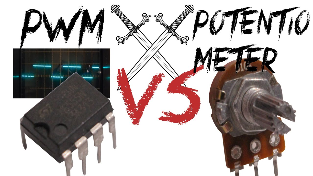 Pwm Vs Potentiometer When To Use Which Technique Youtube Wiring 2 Potentiometers In Series