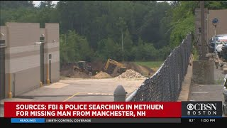FBI Searches Area In Methuen In Connection With Missing New Hampshire Man