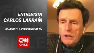 """Carlos Larraín: """"No creo que esta especie de kínder político le haya lavado la cara al parlamento"""""""