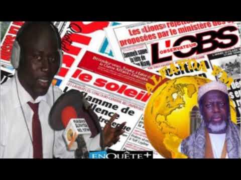 Revue de Presse avec Omar CISSE - Jeudi 8 Mars 2018