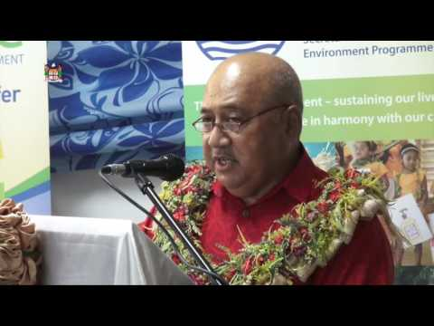 Fijian Minister for Foreign affairs opens SPREP office in Fiji