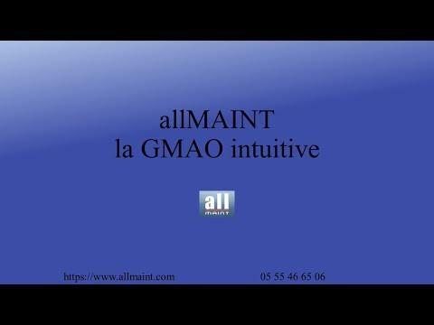 Présentation GMAO allMAINT
