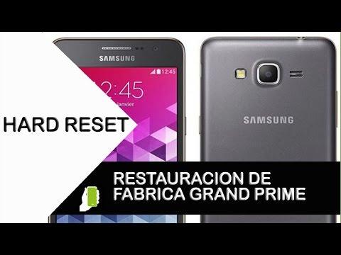 Samsung Galaxy Grand Prime  SM-G530H HARD RESET O Restauración De Fabrica