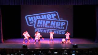 Varsity 3erd Place - Hip Hop International PR (KnockOut Crew)