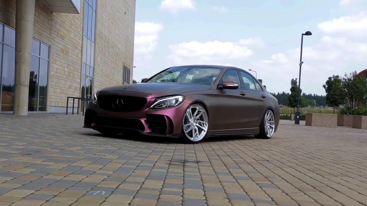 Mercedes Benz C300 W205   Armytrix アーミトリックス   可変バルブマフラー   高周波サウンド 快音 - YouTube