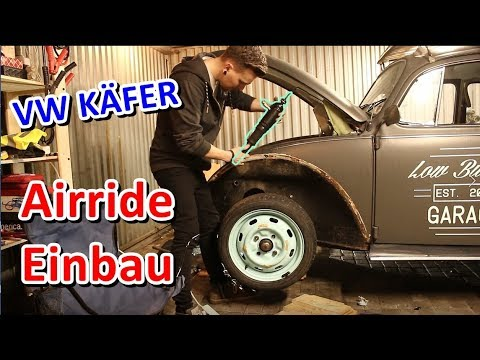 vw k fer airride umbau beginnt youtube. Black Bedroom Furniture Sets. Home Design Ideas