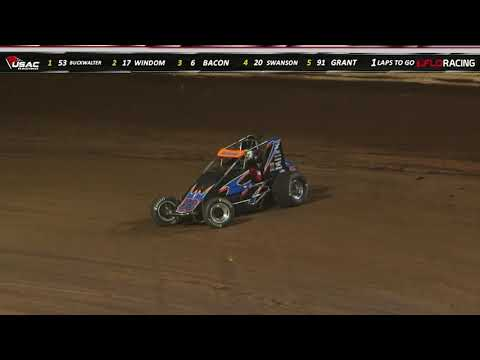 "USAC Eastern Storm ""Williams Grove 100"" Final Laps Highlight"