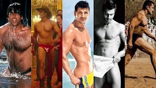 Bollywood heroes who dared to bare their briefs on screen