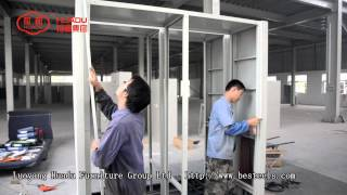 Mobile Cabinet Installation Video From Luoyang Huadu Furniture Group,china