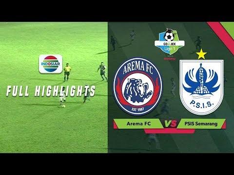 Arema FC (1) vs (0) PSIS Semarang - Full Highlight | Go-Jek Liga 1 Bersama Bukalapak