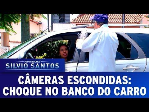 Choque no Banco do Carro - Shock on the Car Seat | Câmeras Escondidas (26/11/17)