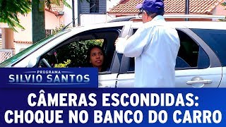 Choque no Banco do Carro - Shock on the Car Seat | Câmeras Escondidas (26/11/17)