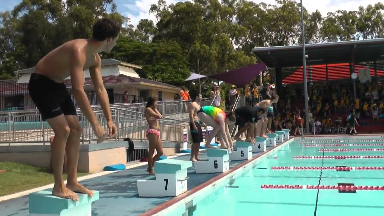 Swimming carnival 2012 youtube for Cleveland high school swimming pool