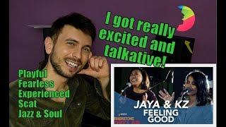 Vocal coach YAZIK analysis of JAYA & KZ - FEELING GOOD at ARTIST LAB