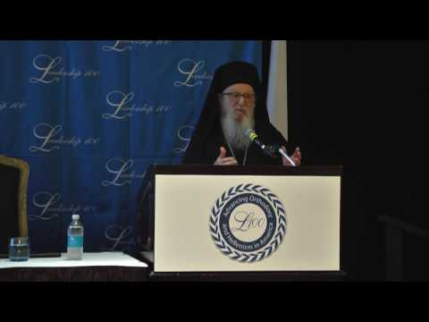 The Leadership 100 26th Annual Conference, Archbishop Demetrios on The Holy & Great Council