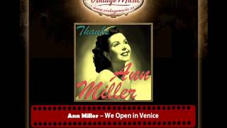 Ann Miller -- We Open in Venice