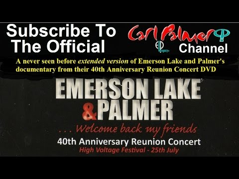 Extended version of Emerson Lake and Palmer's documentary from their 40th Anniversary Concert DVD