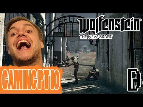 BREAK BACK INTO NAZI PRISON!!! WOLFENSTEIN THE NEW ORDER GAMING PT 10