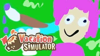 Künstlerisch im Wald-Urlaub | VR Urlaub Simulator #5