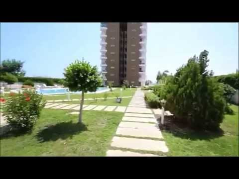 Luxury seafront apartments for sale in Lara, Antalya