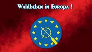 EU-WAHLBEBEN: Europa wählt rechts, Deutschland seine ABSCHAFFUNG