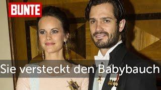 Sofia von Schweden - Versteckspiel mit ihrem Babybauch  - BUNTE TV