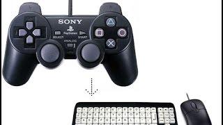 """شرح طريقة او كيفية تحويل لوحة المفاتيح  """"keyboard"""" لعصا التحكم  """"joystick """" الخاصة بالكومبيوتر"""