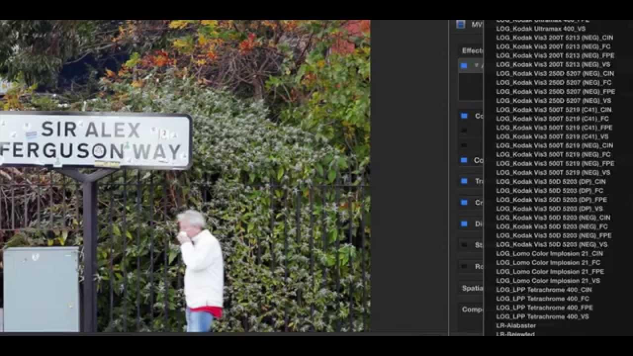 Using VSCO Film as LUTs in FCPX