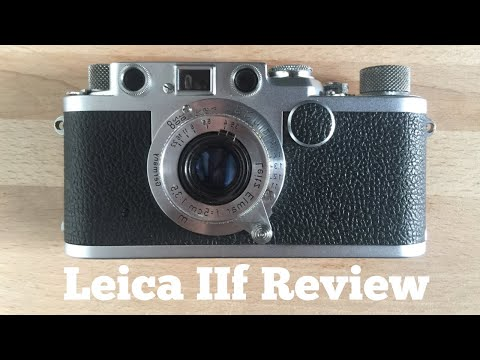 Leica IIF Review, Let's try LTM