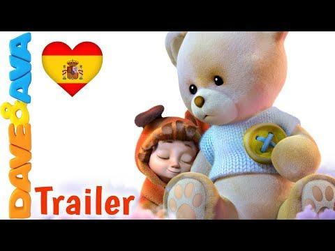 ❤Duérmete Niño – Trailer | Canciones Infantiles en Español | Canciones de Cuna de Dave y Ava❤