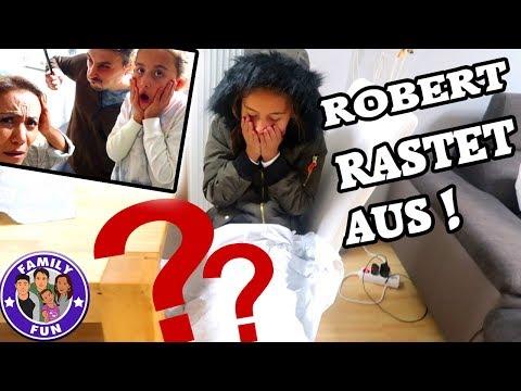ROBERT RASTET VÖLLIG AUS! WAS HAT IHN SO WÜTEND GEMACHT? Vlog #134 FAMILY FUN