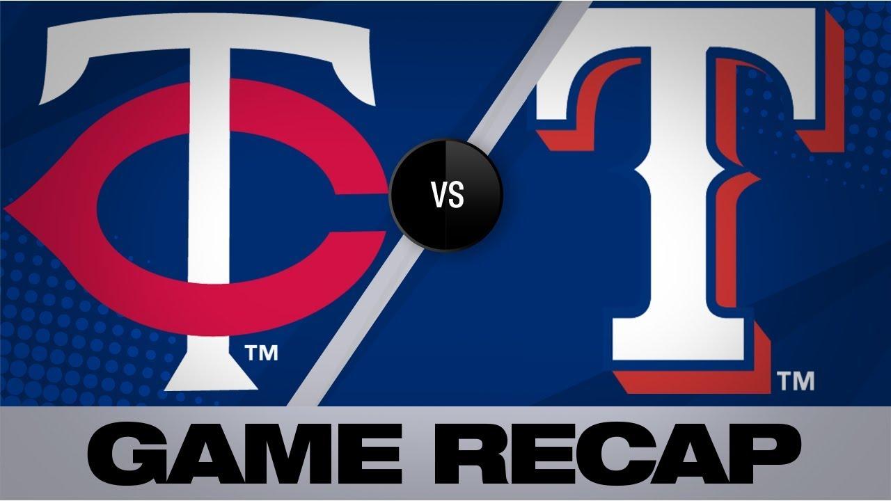 Jonathan Schoop's home run lifts Twins past Rangers