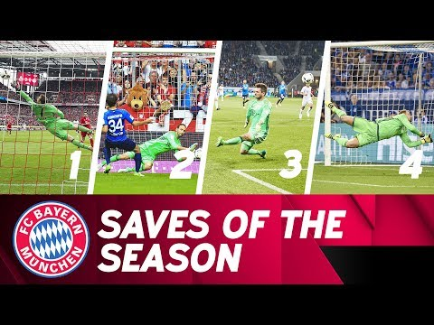 Best FC Bayern Saves 2016/17 🙌⚽