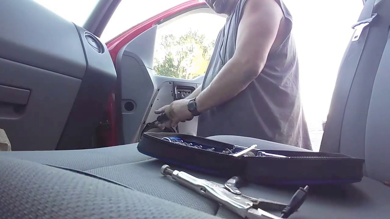How To Remove A Ford F 150 Door Panel Fix Window