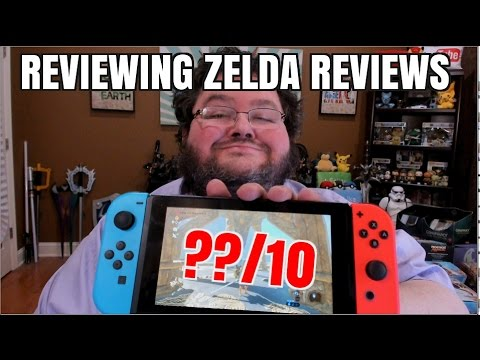 reviewing zelda breath of the wild reviews youtube. Black Bedroom Furniture Sets. Home Design Ideas