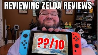 REVIEWING ZELDA BREATH OF THE WILD REVIEWS!