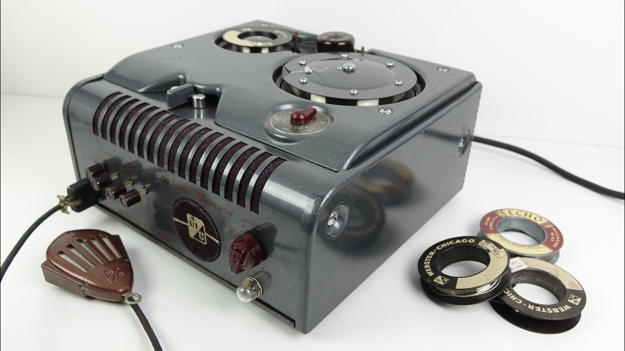 Retro Tech: The Wire Recorder
