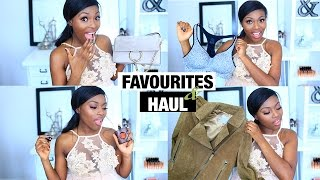 FAVOURITES & MINI BLACK FRIDAY HAUL | CHLOE BAG, YSL BLACK OPIUM, SLAPS & MORE!
